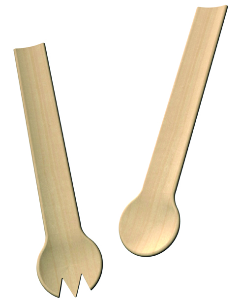 Michael Graves Salad Servers for Dansk