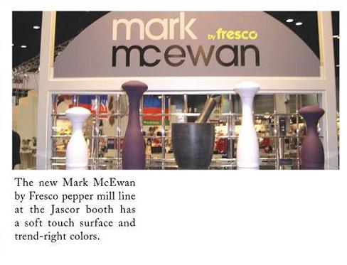 Mark McEwan Fresco HW show 2009 Kitchenware News 488