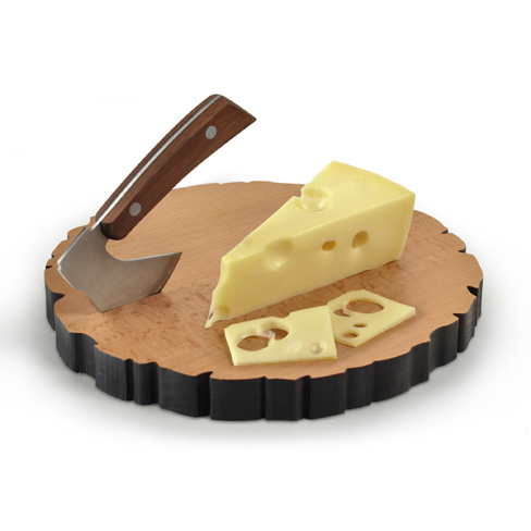 Fred and Friends Cheese Log Board 488 2