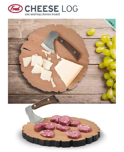Fred and Friends Cheese Log Board 488 8
