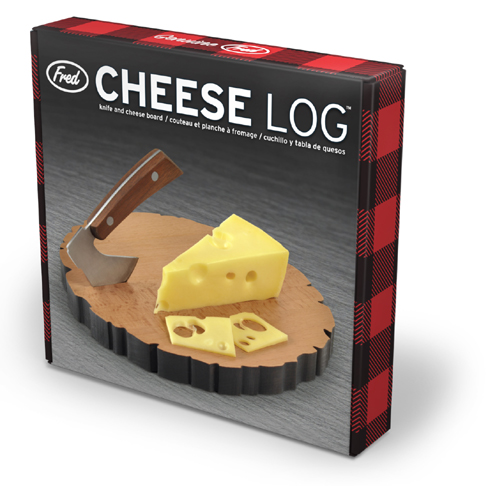 Fred and Friends Cheese Log Board  6 488